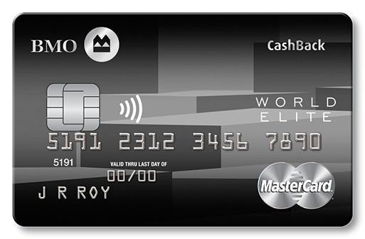 BMO Cashback World Elite MasterCard Review