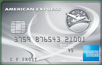American Express Air Miles Platinum Credit Card