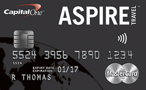 Capital One Aspire Travel World Elite MasterCard