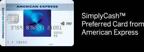 New SimplyCash Preferred Card from American Express