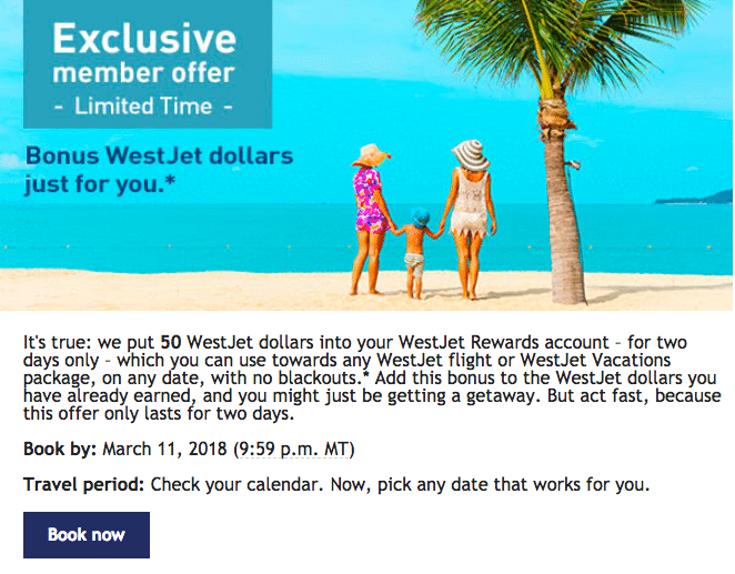 WestJet's Marketing Trick