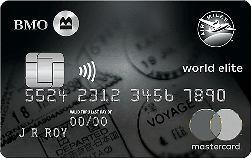 BMO Air Miles World Elite MasterCard Review